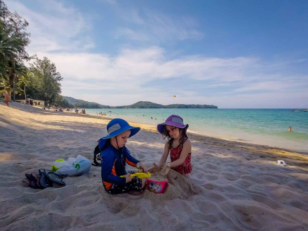 Bang Tao Beach Phuket Thailand with Kids