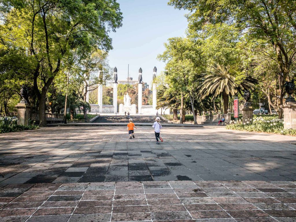 Bosque de Chapultepec - Mexico City with Kids