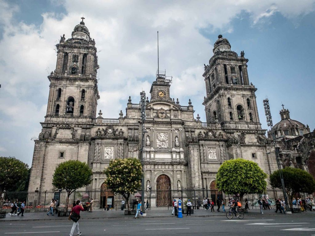 Cathedral in Mexico City