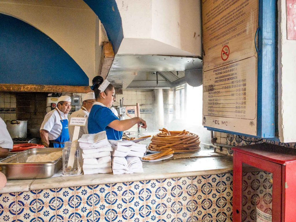 El Moro Churros - Mexico City with Kids