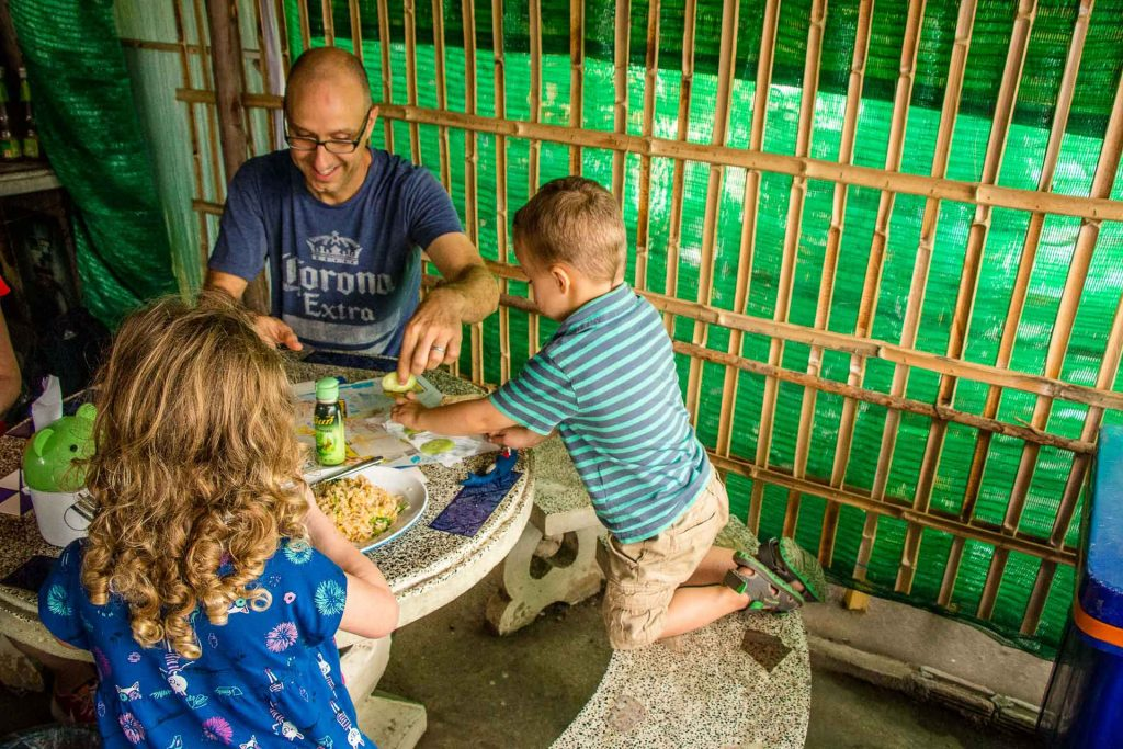 Family Cycle Tour in Chiang Mai Thailand