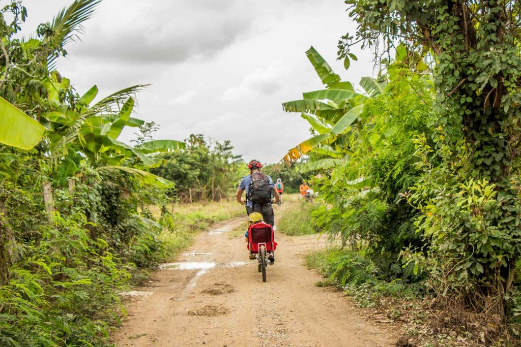 Biking tour for families in Chiang Mai Thailand