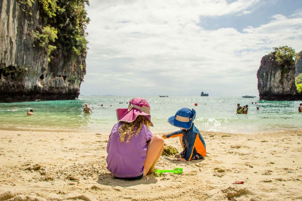 Family Friendly Hong Island Beach Thailand