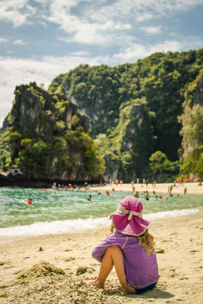 Hong Island Thailand with Kids