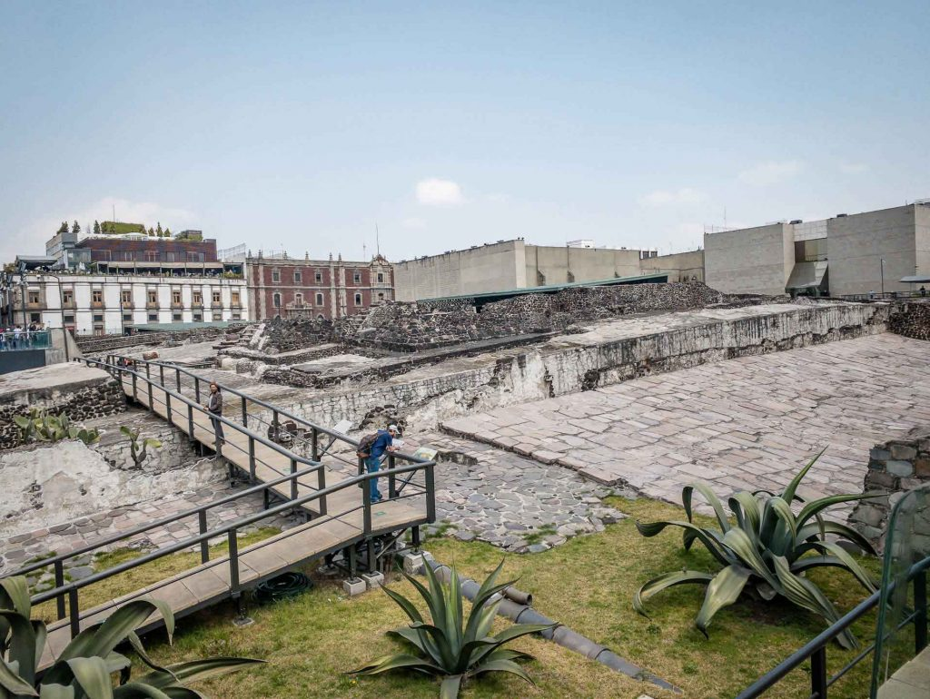 Templo Mayor - Mexico City with Kids