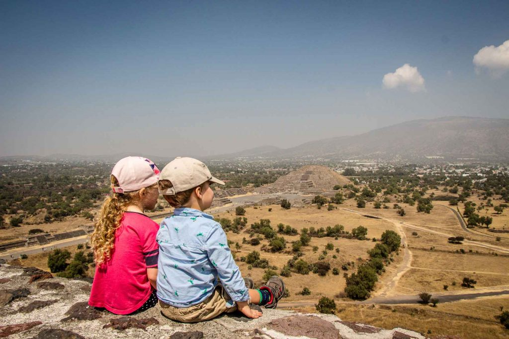 Temple of the Moon - Teotihuacan Pyramids
