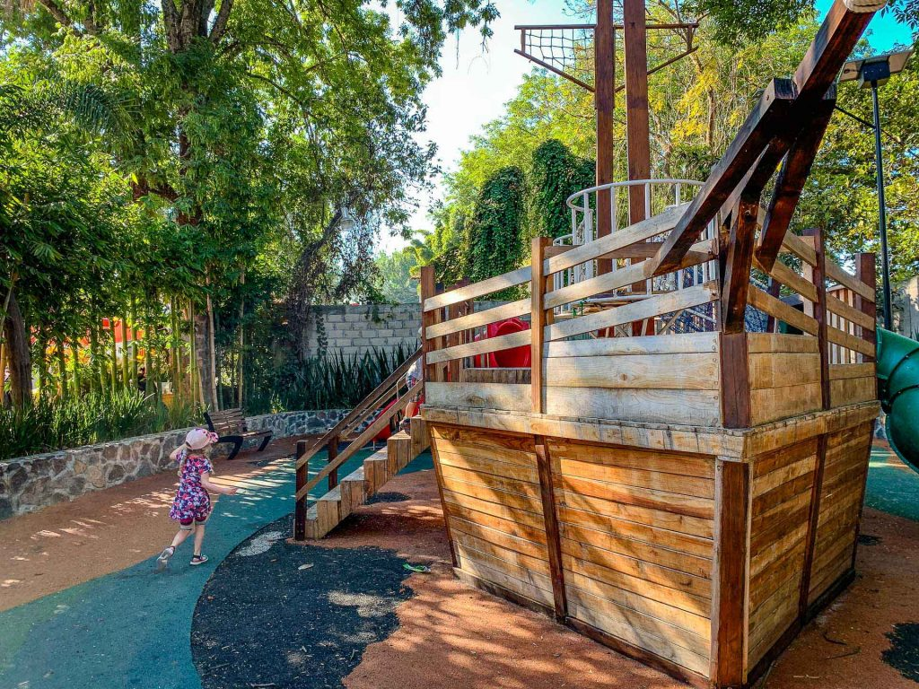 Playground in Valle de Bravo Mexico