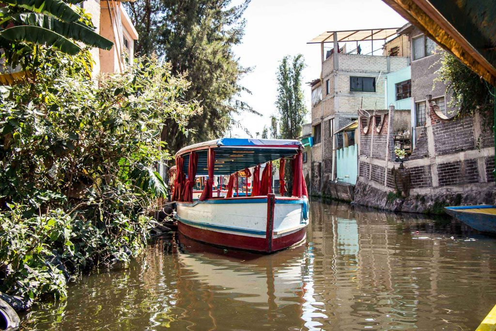Xochimilco Canals Mexico City
