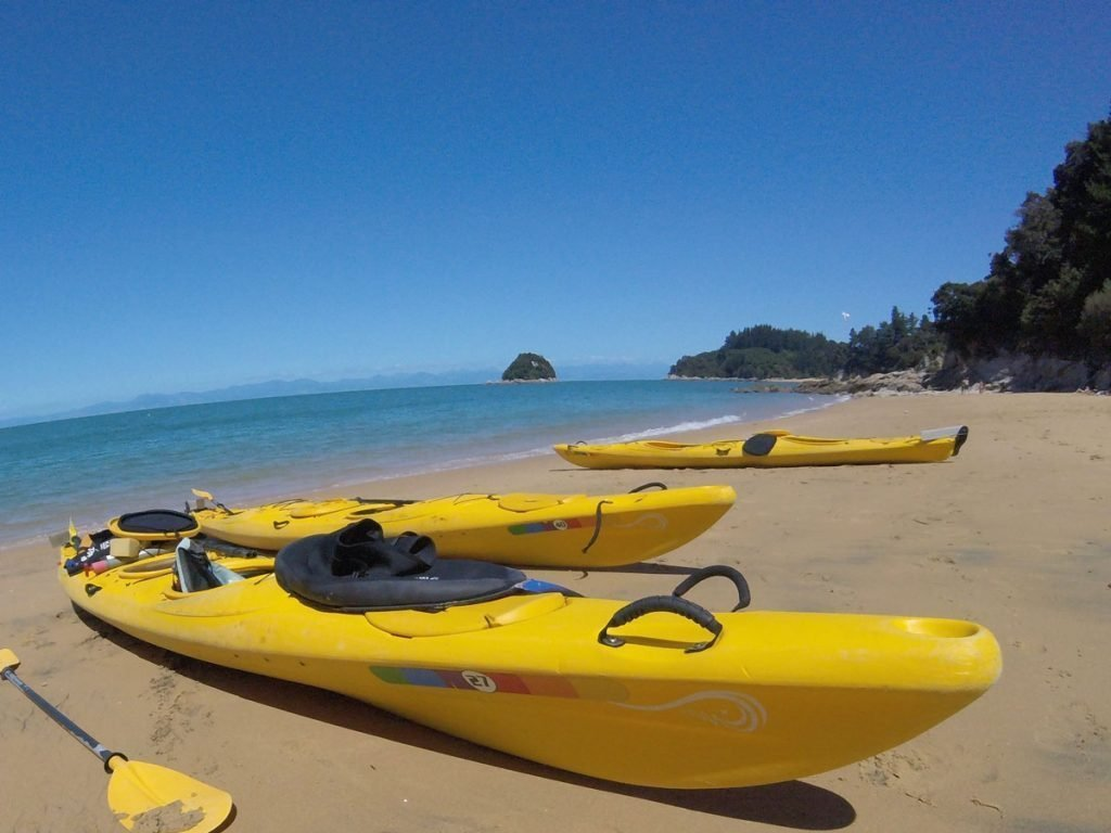 Kayak with Kids in New Zealand