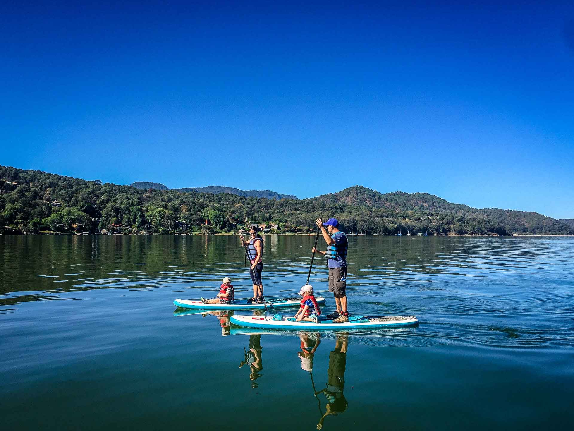 Stand Up Paddle Board with Kids