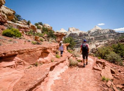 capitol reef hiking with kids