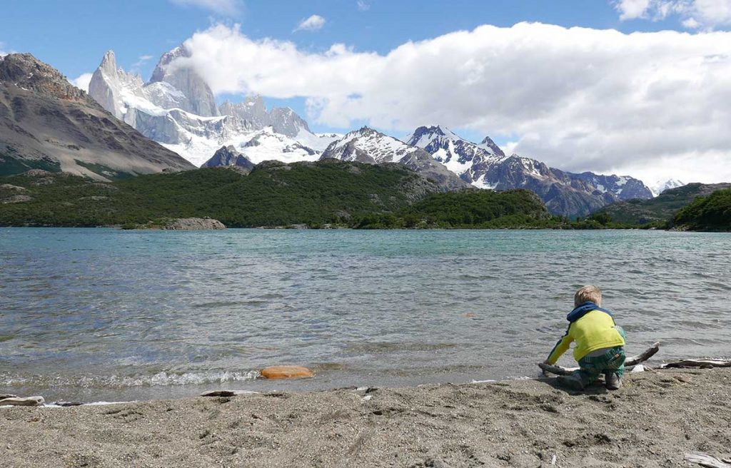 El Chalten Hike with Kids