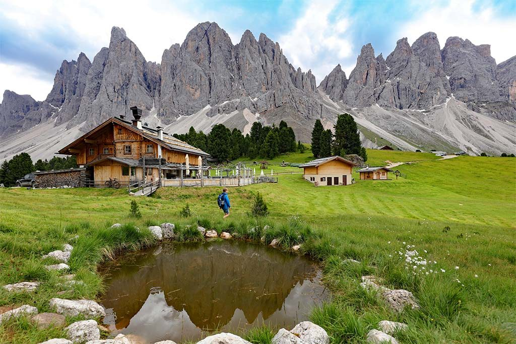 Hiking with Kids in Italy Dolomites