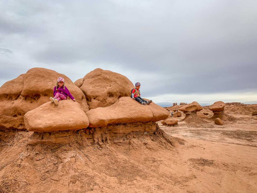 Goblin Valley with kids