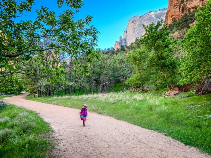 The Grotto Trail with Kids