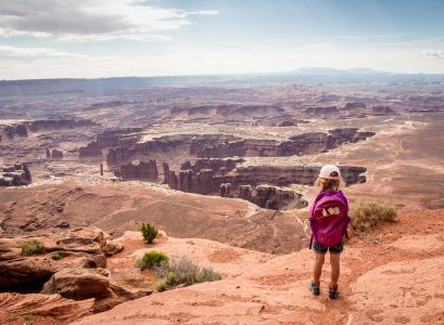 Grand View Point Trail Canyonlands National Park Island in the Sky
