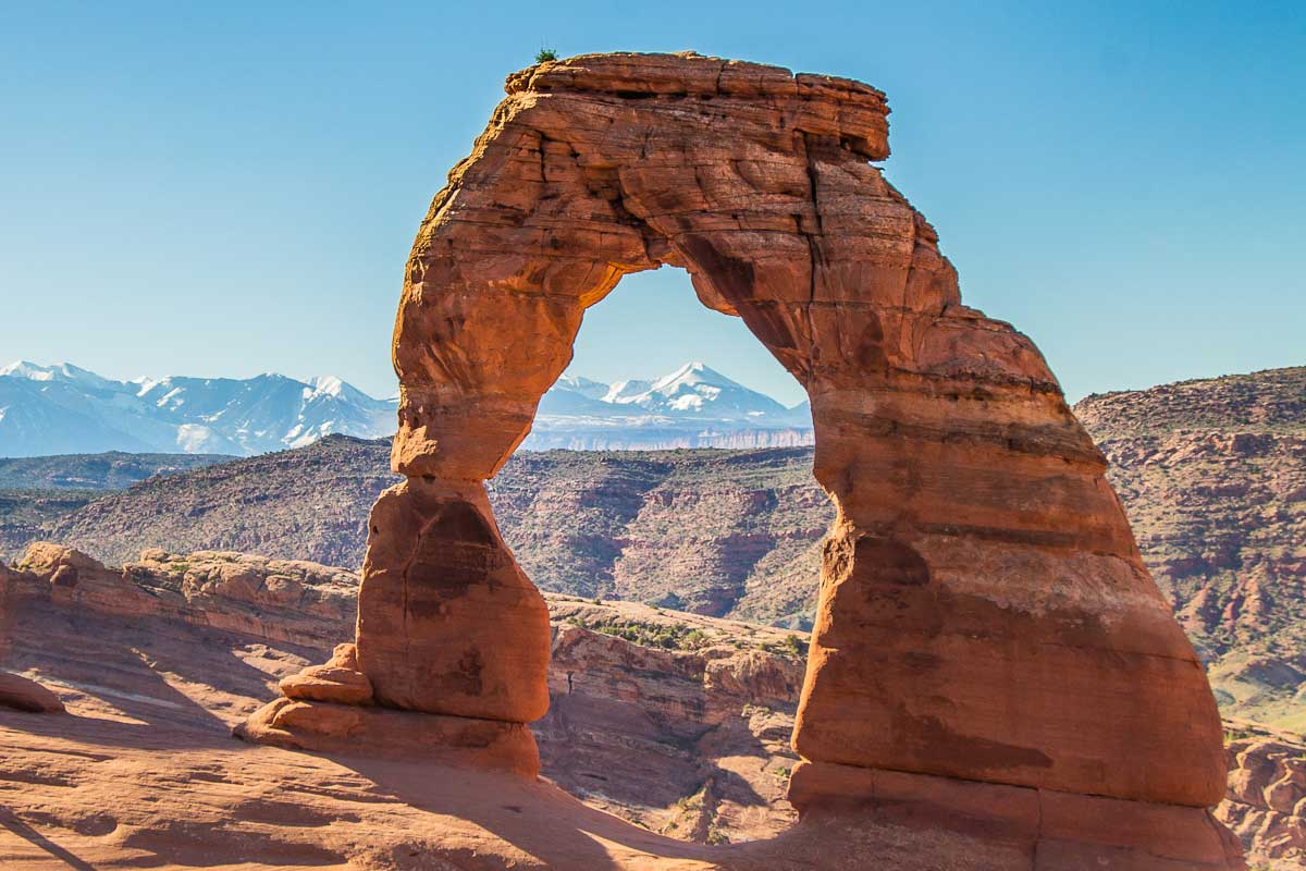 Image of Delicate Arch in Arches National Park