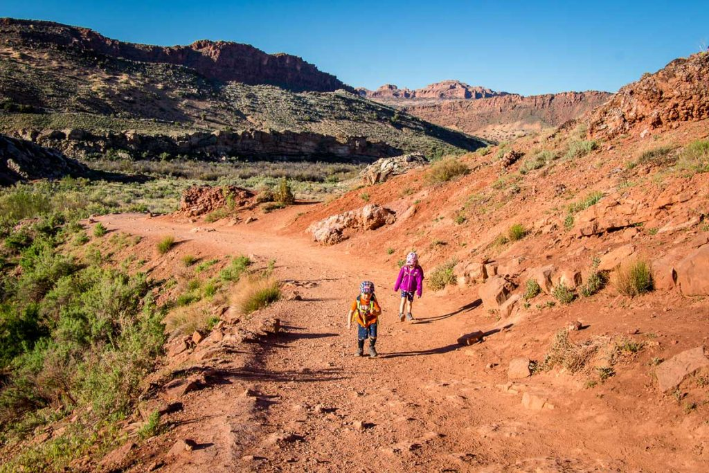 best hikes in Arches National Park  -Delicate Arch with Kids