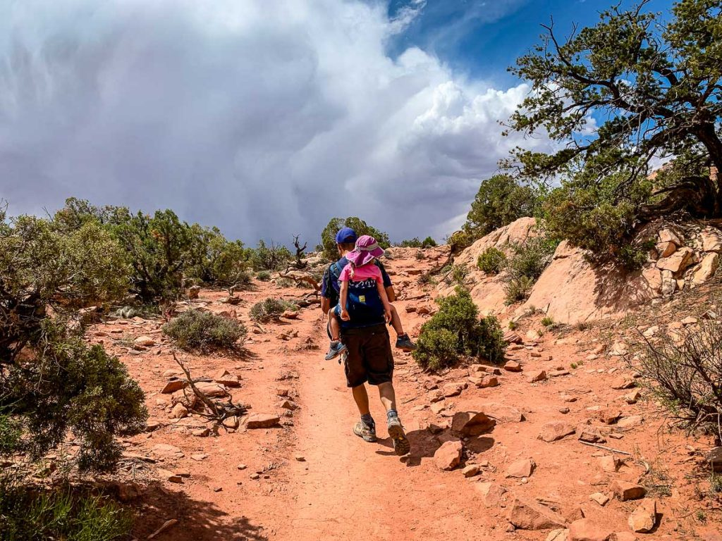 Upheaval Dome Hike in Canyonlands