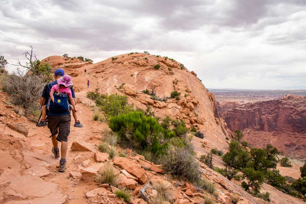 Hikes in Canyonlands Island in the Sky