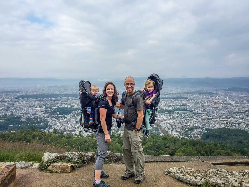 Hiking with Kids in Japan