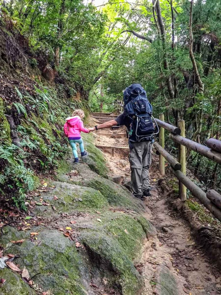 Hiking in Kyoto with Kids