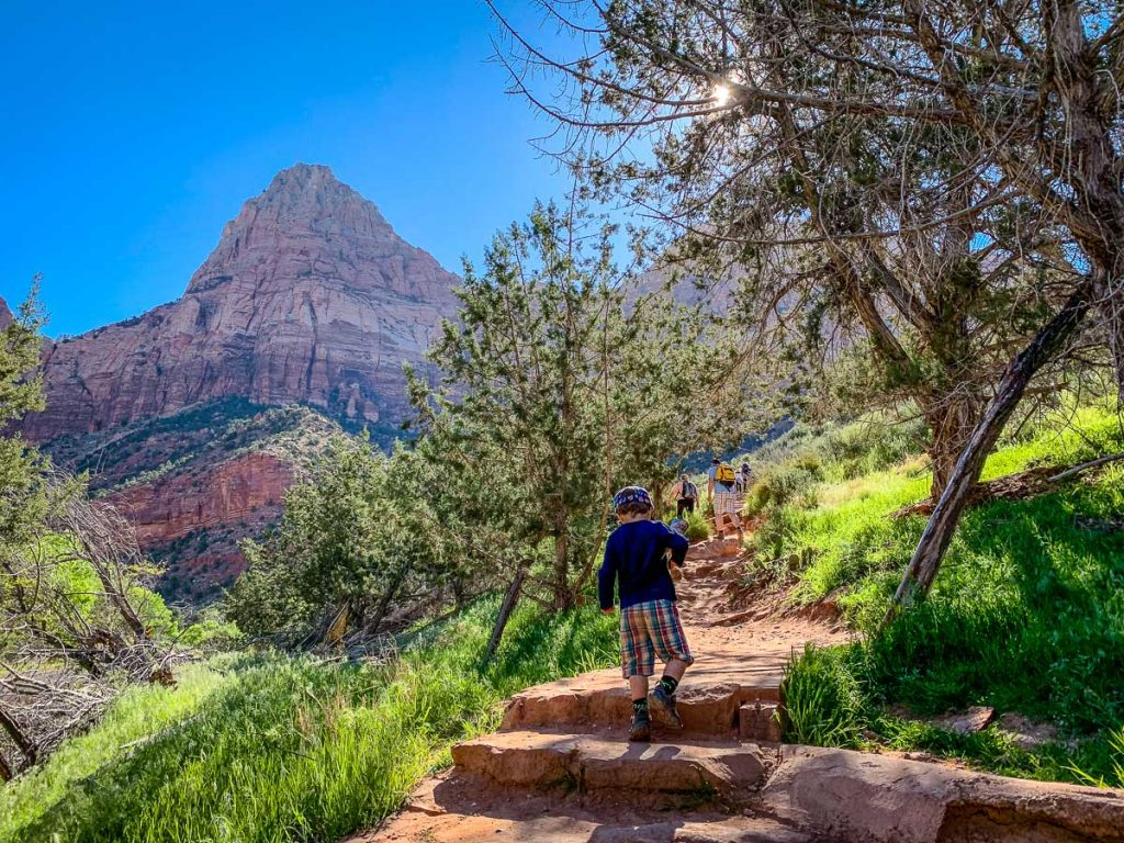 The Watchman Trail with Kids