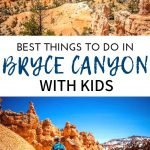 Here are the best things to do in Bryce Canyon NP with kids. We include where to stay, the best hikes, camping and so much more! We also include the surrounding areas of Kodachrome Basin State Park and Red Canyon. #usatravel #nationalparks #hikingwithkids #brycecanyon #utah
