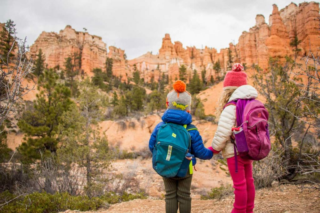 Bryce Canyon NP hikes with kids