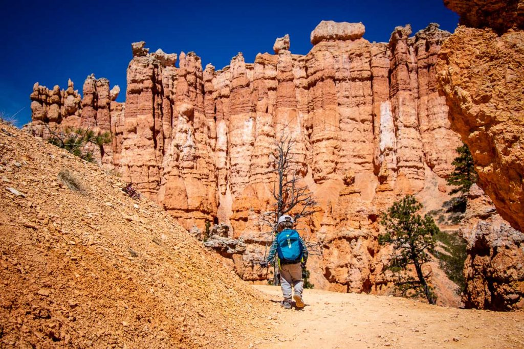 hiking with kids in Bryce Canyon NP Utah