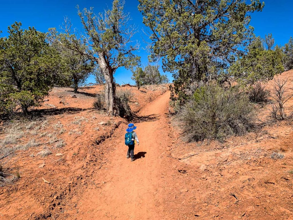 family friendly hikes in kodachrome basin state park utah