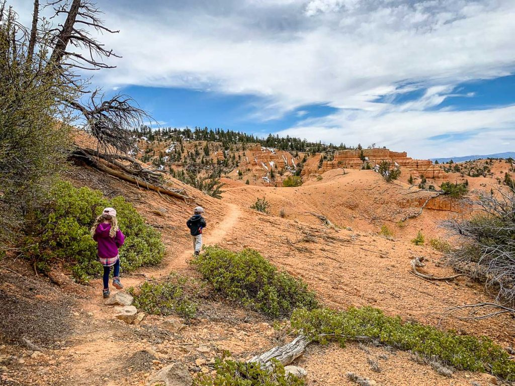 Castle Bridge Trail in Red Canyon Utah