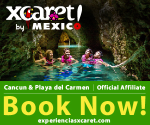 Banner ad - Xcaret Cancun