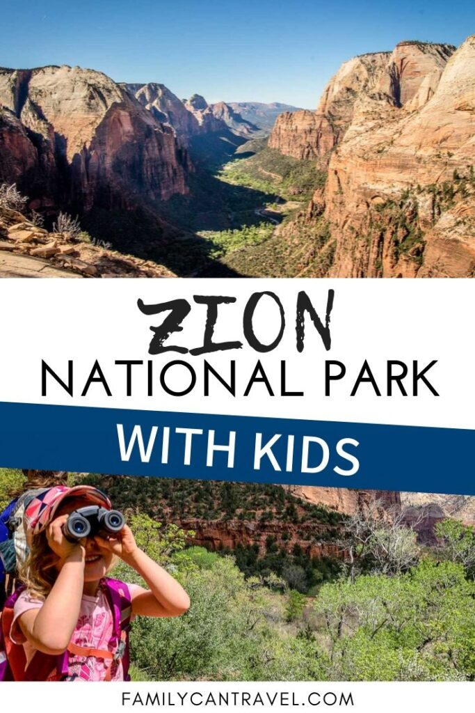 Zion National Park in Utah is incredible! There are so many family friendly hikes and things to do with kids! Make sure to add Zion National Park with Kids to your bucket list and click to read everything you need to know!