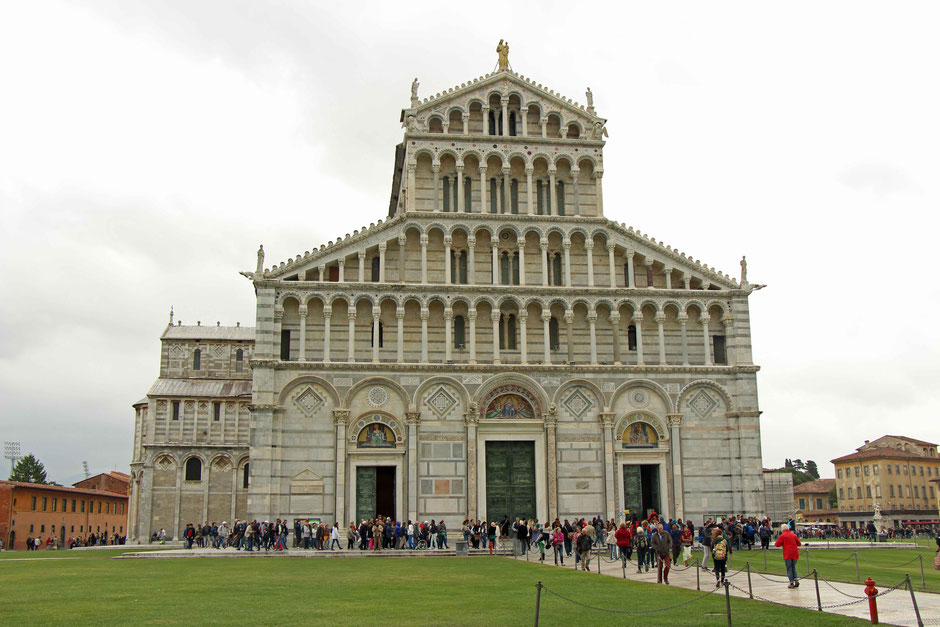 The Pisa Cathedral is one of the top things to do in Pisa