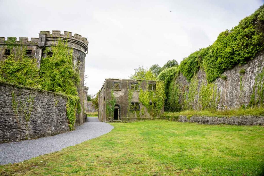 image of the grounds behind Cork City Gaol