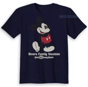 what to bring to disney world - Ad for personalized Disney T-shirts