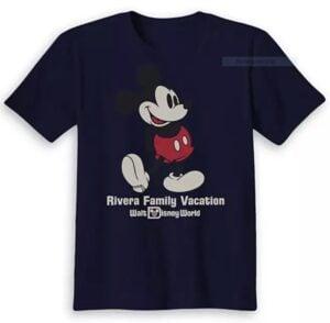 Ad for custom Disney T-shirts
