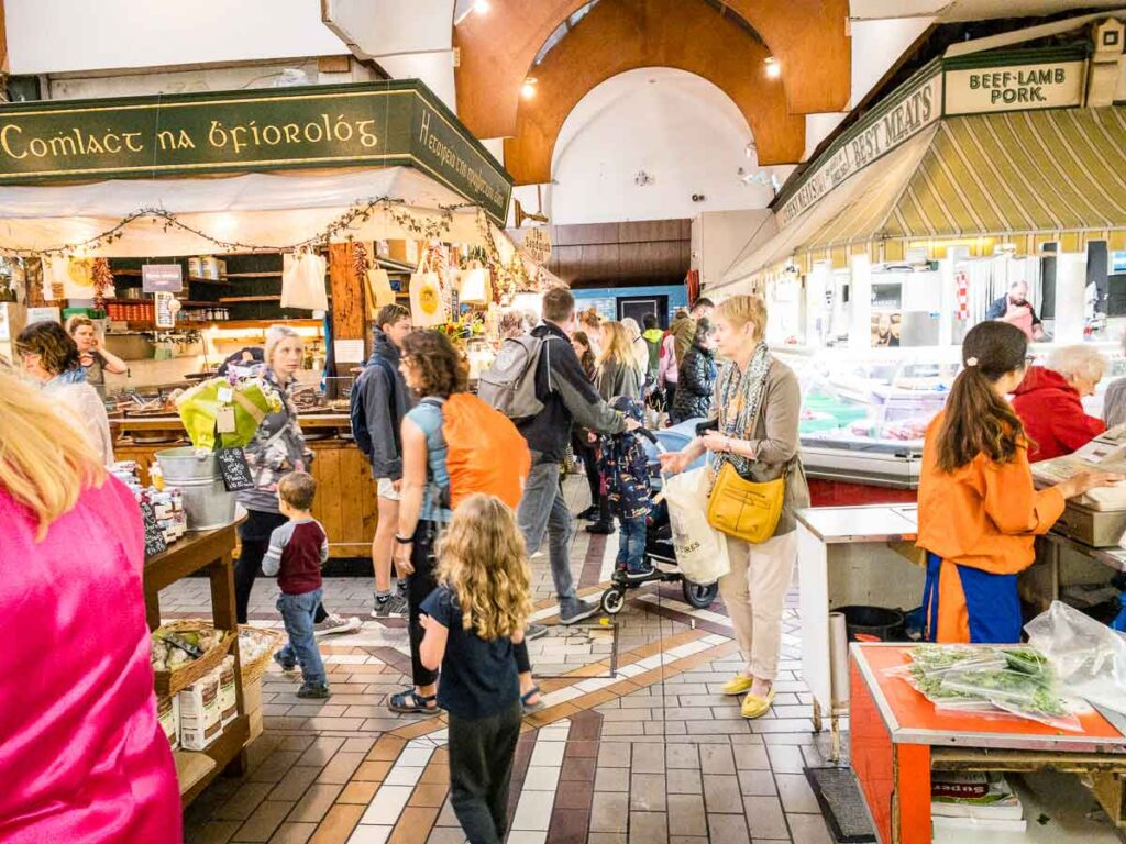 image of English Market in Cork
