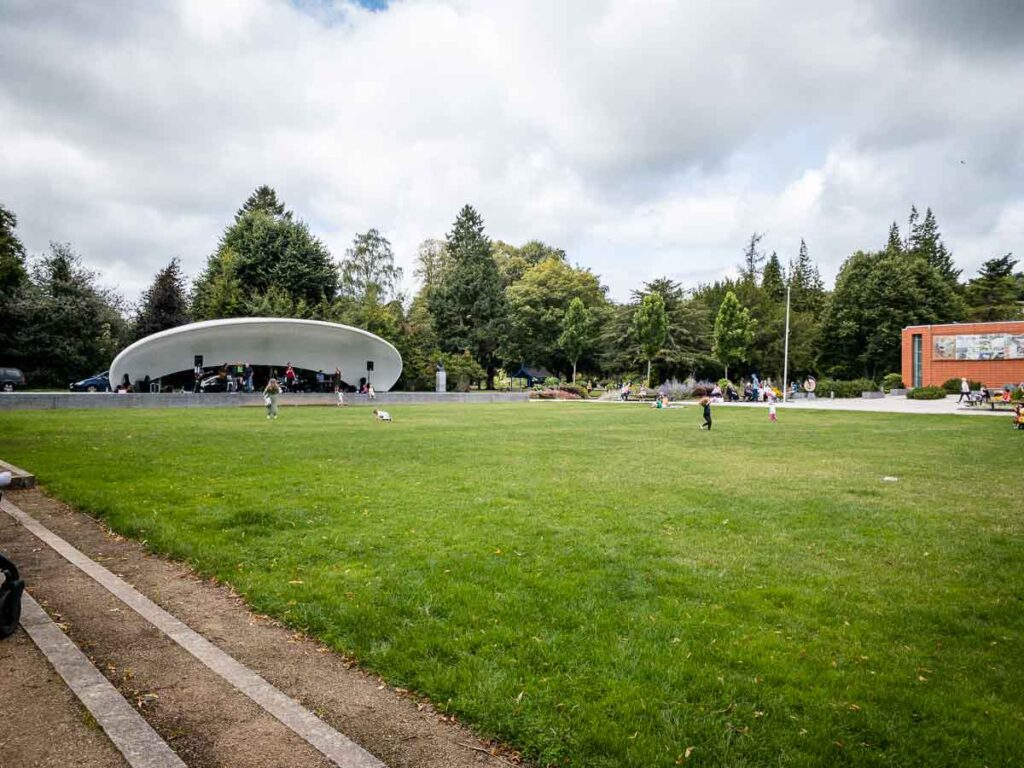 image of stage in Fitzgerald Park in Cork Ireland