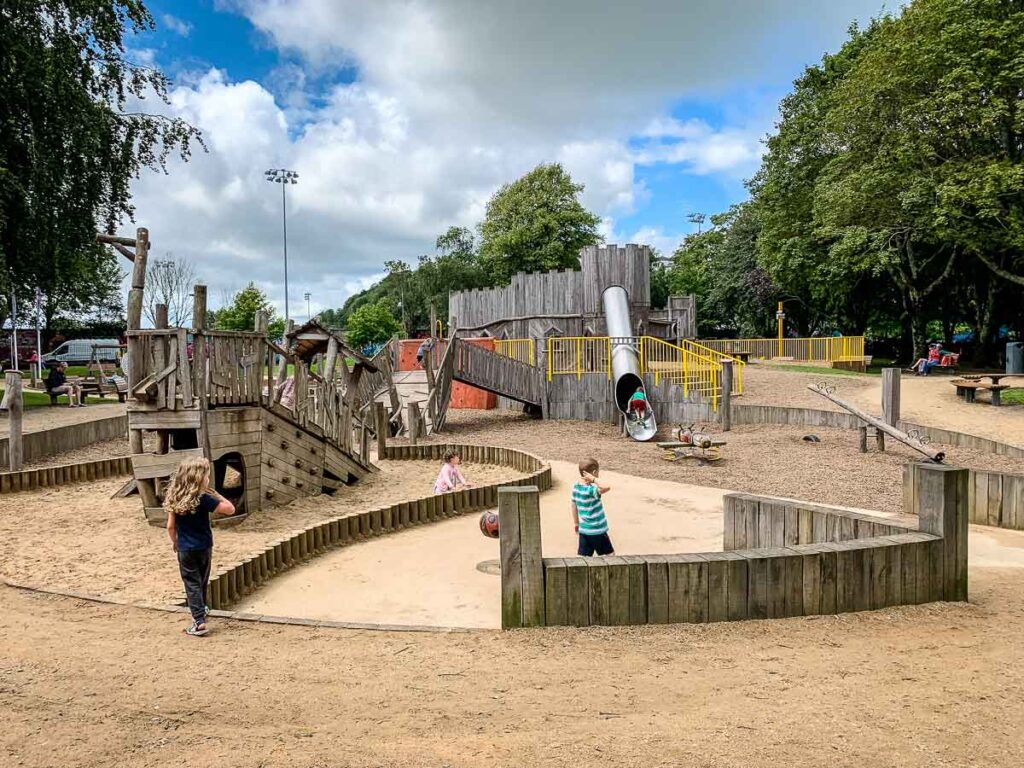 Image of playground in Cork Ireland