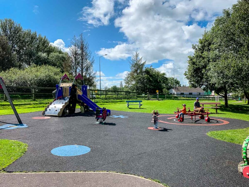 image of playground near Blarney Castle