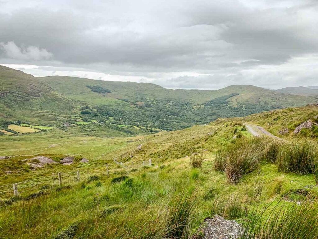 image of road up to Barley Lake
