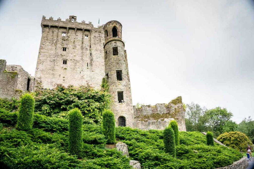 image of Blarney Castle and Gardens in Cork Ireland