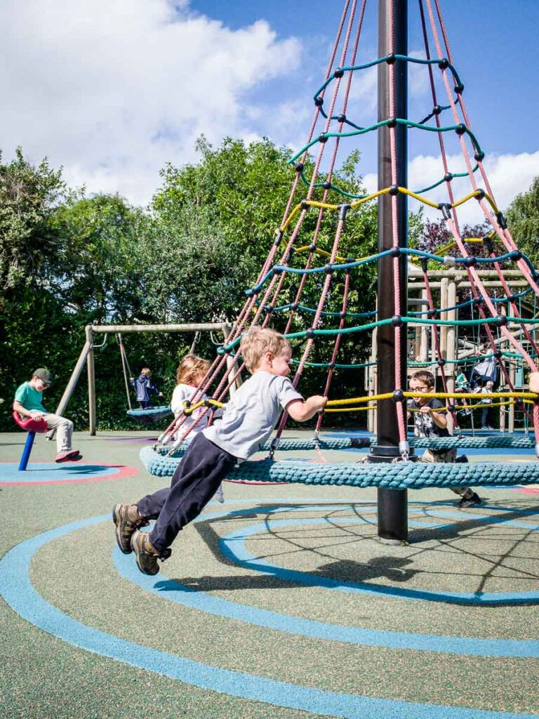 image of kids at playground in Dublin