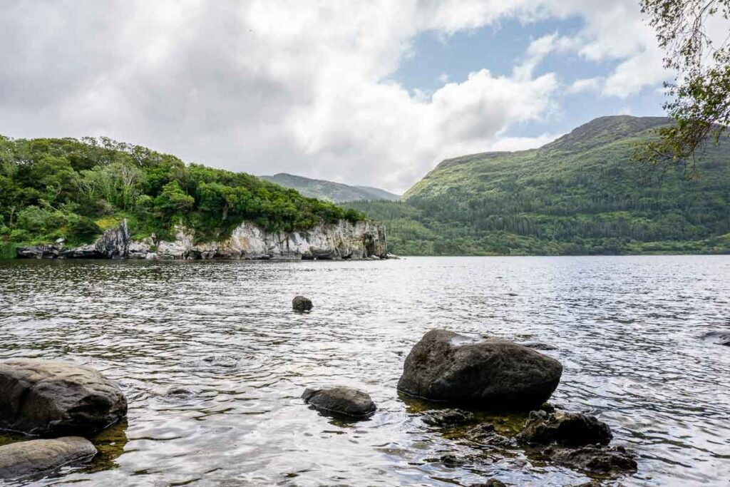 image of Muckross Lake in Killarney National Park Ireland