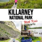 grid with multiple images of Killarney National Park with text overlay of Killarney National Park with Kids
