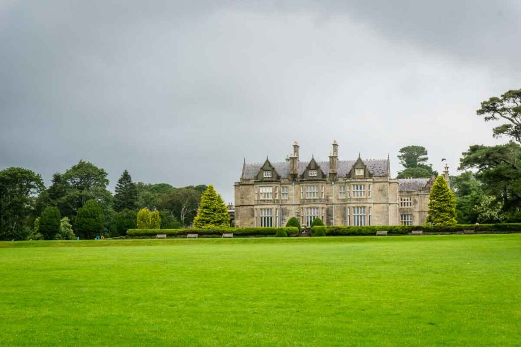 image of Muckross House in Killarney NP