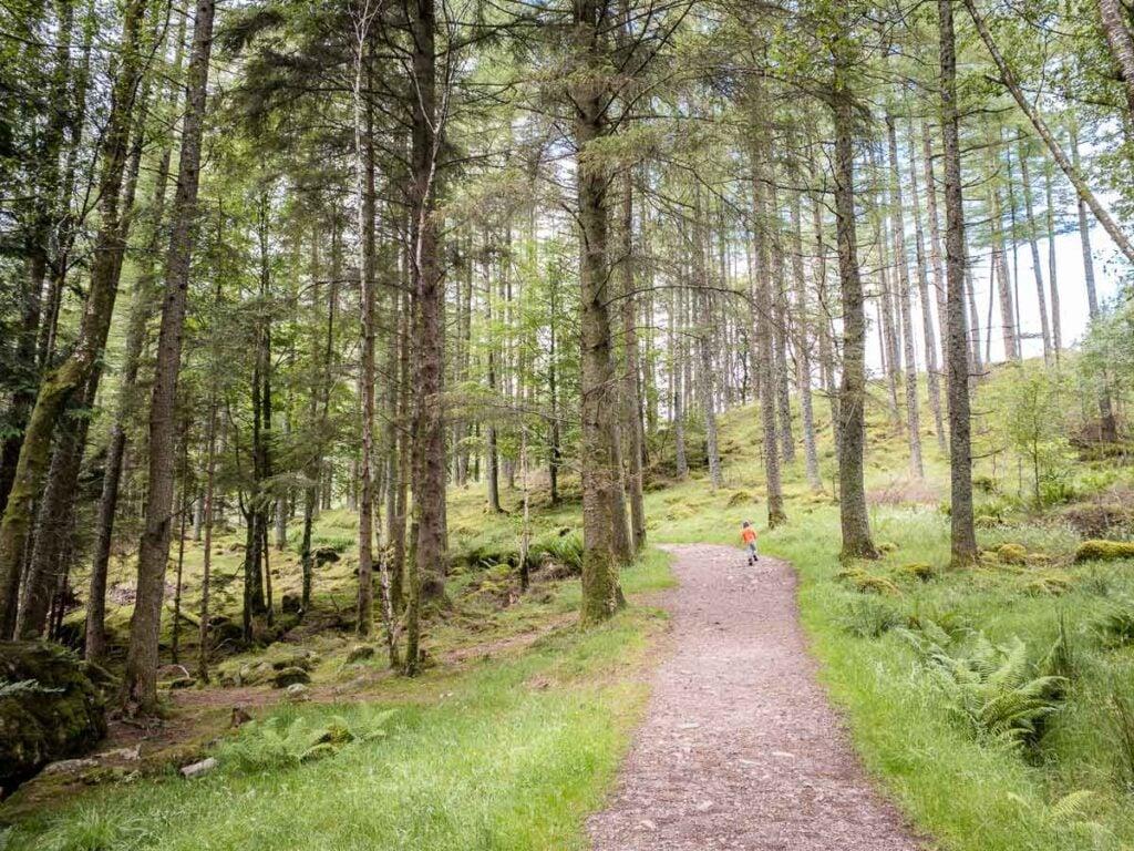 image of An Torr hike in Glencoe Scotland