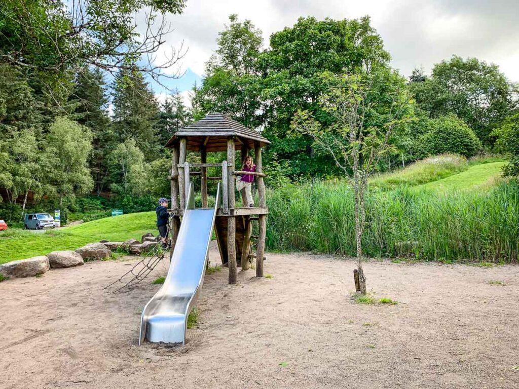 Image of kids on Playground near Loch Lomond Visitor Centre